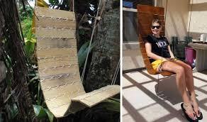 siege en palette tuto un fauteuil suspendu diy fabriquer un siège suspendu avec