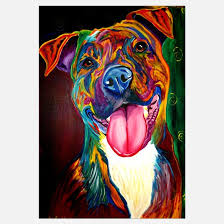 boxer dog wall art dog wall art dog wall decor