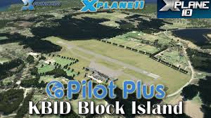 Block Island Map Pilot Plus Kbid Block Island For X Plane 11 U0026 10 Youtube