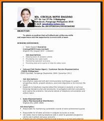 resume format 2017 philippines 4 resume sles for fresh graduate forklift resume
