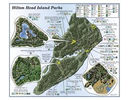 Map Of Hilton Head Island Hilton Head Island Parks Things To Do In Hilton Head
