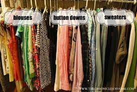how to organize a closet closet organization without spending a dime the chronicles of home