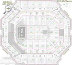 barclays center brooklyn nets u0026 concerts seat numbers detailed