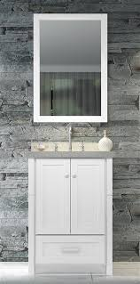 25 Inch Vanity 25 Inch White Single Sink Vanity And Mirror