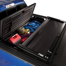 Slide Out Truck Bed Tool Boxes Tonneau Mate Under Truck Cover Truck Bed Tool Box By Truxedo