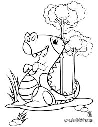 happy stegosaurus coloring pages hellokids