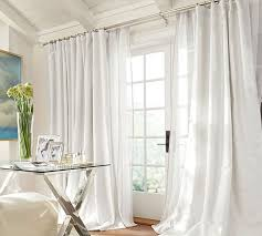 White Silk Curtains Stunning White Silk Curtains And Dupioni Silk Pole Pocket Drape