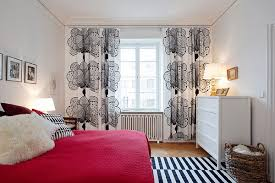 Bedroom Curtain Ideas Small Rooms Beautiful Apartment With Energy And Color Alldaychic
