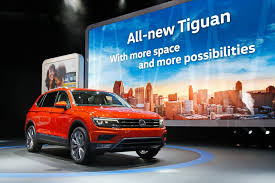 us bound 2018 vw tiguan grows in size becomes a seven seater
