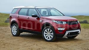 land rover discovery exterior 2017 land rover discovery gets rendered