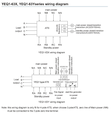 yeq1 changeover switch mcb ats socomec manual changeover switch