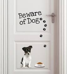 home decor line buy vinyl beware of wall sticker by home decor line