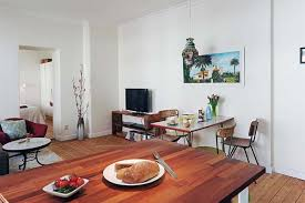 Dining Room Apartment Ideas Apartments Excellent Open Floor Plans Ideas Of 47sqm One Bedroom
