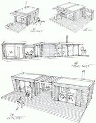 log cabin design plans modern vacation home plans home plan