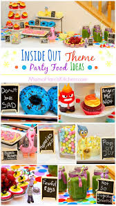 inside out party inside out theme party food ideas harris kitchen
