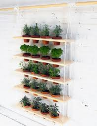 Countertop Herb Garden by 45 Charming Outdoor Hanging Planter Ideas To Brighten Your Yard