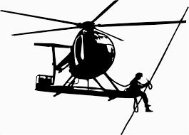 Lineman Barn Decals Helicopter Vinyl Decal