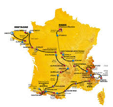 St Malo France Map by Cyclingrevealed Tdf08