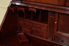 Secretary Style Desks Antique Secretary Desk And Bookcase U2014 All Home Ideas And Decor