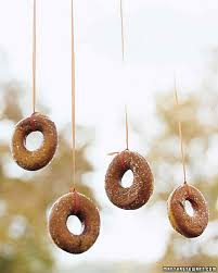 doughnuts on a string doughnuts birthdays and birthday party ideas