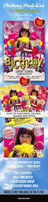 halloween party flyer templates free birthday party kids u2013 club and party free flyer psd template u2013 by