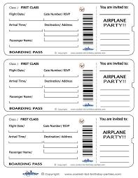 best 25 boarding pass template ideas on pinterest boarding pass