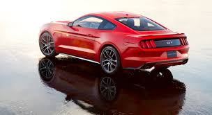2015 Muscle Cars - for the ford mustang the world is seen in black and red
