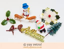 Christmas Baking Decorations Uk by Genuine Vintage Christmas Cards And Christmas Cake Decorations For