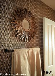 Wallpaper For Bathrooms Ideas by Using Contact Paper To Wallpaper A Wall Cre8tive Designs Inc