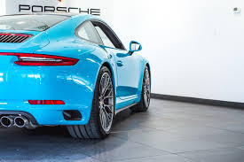 miami blue porsche 2017 porsche 911 carrera 4s for sale in colorado springs co 17017
