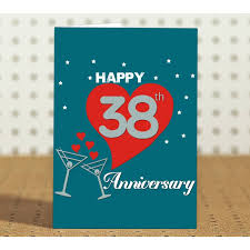 38th wedding anniversary 38th marriage anniversary gift for parents