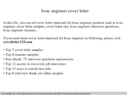Engineering Cover Letter Examples For Resume by Hvac Mechanical Engineer Cover Letter