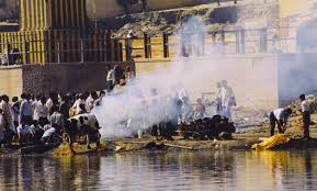 cremation procedure ngt questions hindus cremation procedure says it causes air water