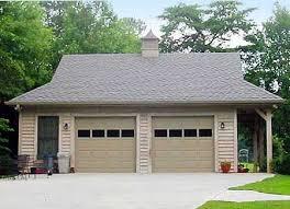2 Car Detached Garage Plan 58548sv 2 Car Garage With Side Porch Side Porch Car