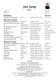 Sample Beginner Acting Resume by Beginner Acting Resume Jobs Billybullock Us