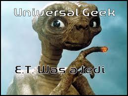 Et Is A Jedi Meme - e t was a jedi