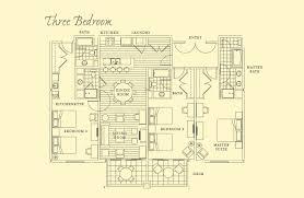 residence inn floor plans floor plans three bedroom residence timbers collection