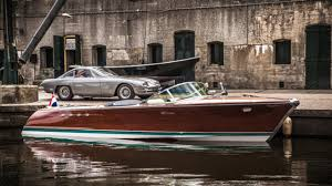 lexus v8 in boat restored boat with two lambo v12s