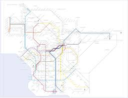 Los Angeles Metro Map by 2050 Los Angeles U0026 Vicinity Metro Grid Imgur