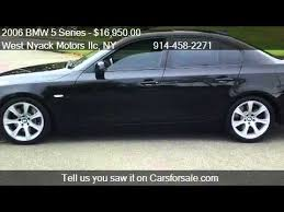 2006 bmw 550i review 2006 bmw 5 series 550i for sale in valley ny 10977
