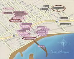 Sonoma Winery Map Wine Tasting On The Downtown Santa Barbara Wine Trail Bearfoot