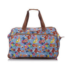Lilly Bloom Lily Bloom Trees Company Wheeled Duffle 8272158 Hsn