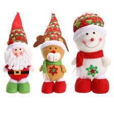 children gift santa claus reindeer doll