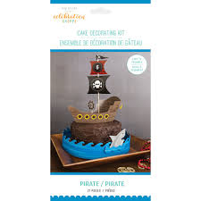 pirate party cake decorating kit pirate party cake kit