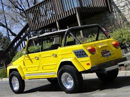 volkswagen yellow this yellow rx 7 rotary powered vw thing can be yours