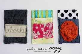 make a gift card gift card cozy make it and it