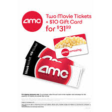 e gift card amc discount amc black ticket 2 pk with 10 concessions gift card bjs