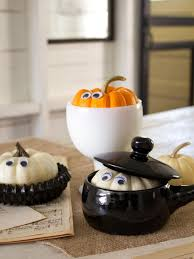 Miniature Halloween Ornaments by How To Make Peekaboo Pumpkins Hgtv