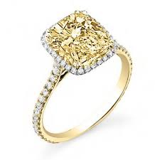 engagement rings yellow gold gold yellow diamond engagement rings