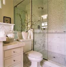 marble mosaic tile bathroom traditional with glass shower